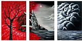 landscape Mountain Dawn painting
