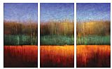 landscape Theatre View by Gregory Garrett painting