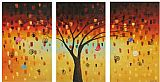 landscape Tree's Dreams painting