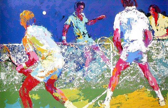 Leroy Neiman Men's Doubles