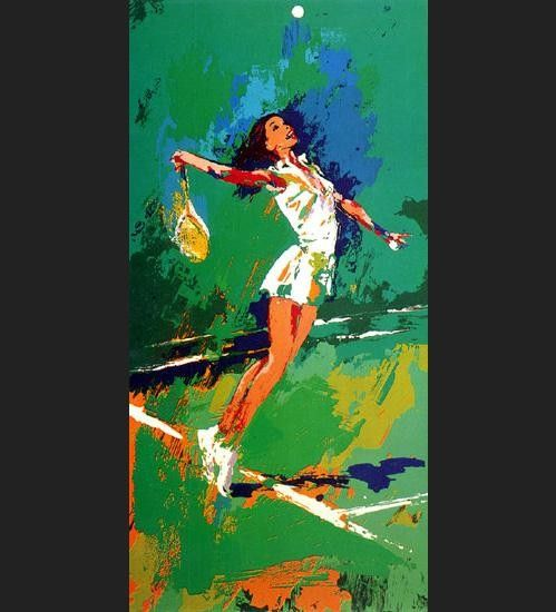 Leroy Neiman Sweet Serve