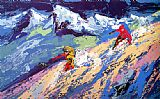 Leroy Neiman Downers painting