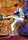 Leroy Neiman Gaylord Perry painting