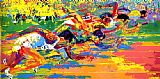 Leroy Neiman Olympic Track painting