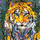 Leroy Neiman Portrait of the Tiger painting