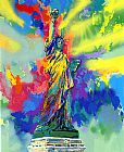 Leroy Neiman Statue of Liberty painting