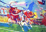 Leroy Neiman Texas Longhorns painting