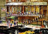 Leroy Neiman The 21 Club painting