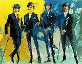 Leroy Neiman The Beatles painting