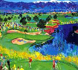 Golf paintings - The Cove at Vintage by Leroy Neiman