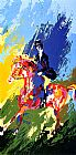 Leroy Neiman The Equestrianne painting