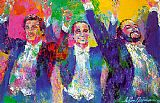 Leroy Neiman The Three Tenors painting