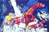 Leroy Neiman Trotters painting