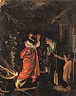 Adam Elsheimer Ceres and Stellio painting