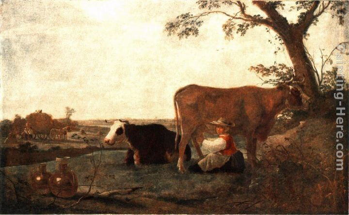 Aelbert Cuyp The Dairy Maid