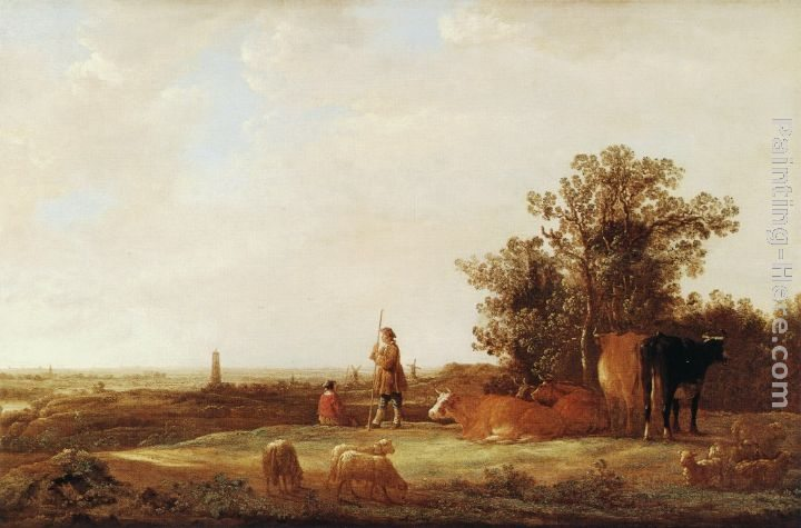 Aelbert Cuyp View of a Plain