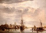 Aelbert Cuyp View Of Dordrecht painting
