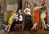 Andrew Sterrett Conklin Venetian Dress Shop painting