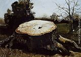 Andrew Wyeth The Big Oak painting