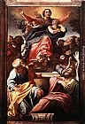 Annibale Carracci Assumption of the Virgin Mary painting