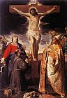 Annibale Carracci Crucifixion painting