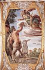 Annibale Carracci Homage to Diana painting