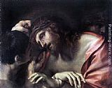 Annibale Carracci Mocking of Christ painting