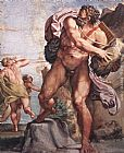 Annibale Carracci The Cyclops Polyphemus painting