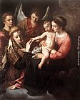 Annibale Carracci The Mystic Marriage of St Catherine painting