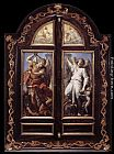 Annibale Carracci Triptych painting