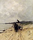 Anton Mauve The Sand-Cart painting