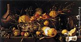Antonio de Pereda Still-Life with Fruit painting