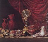 Antonio de Pereda Still-life with a Pendulum painting