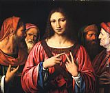 Bernardino Luini Christ disputing with the Doctors painting