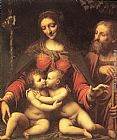 Bernardino Luini Holy Family with the Infant St John painting