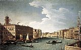 Bernardo Canal The Grand Canal with the Fabbriche Nuove at Rialto painting