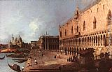 Canaletto Doge Palace painting