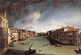Canaletto Grand Canal, Looking Northeast from Palazo Balbi toward the Rialto Bridge painting