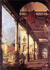 Canaletto Perspective painting