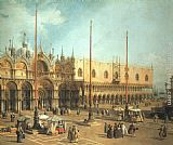 Canaletto Piazza San Marco - Looking Southeast painting