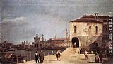 Canaletto The Fonteghetto della Farina painting