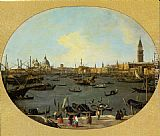Canaletto Venice Viewed from the San Giorgio Maggiore painting