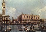 Canaletto View of the Bacino di San Marco painting