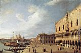 Canaletto View of the Ducal Palace painting