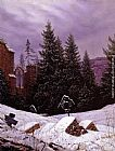 Carl Gustav Carus Cemetary on Mount Oybin painting