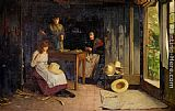 Carlton Alfred Smith The Hat Makers painting