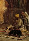 Charles Bargue Prayer In A Mosque painting