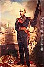 Charles Zacharie Landelle Charles Baudin, Amiral de France painting