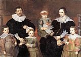 Cornelis De Vos The Family of the Artist painting