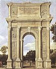 A Triumphal Arch of Allegories